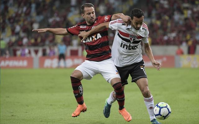 Líder Flamengo perde em casa no retorno do Brasileirão