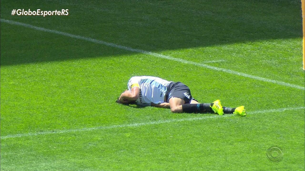 Grêmio confirma Geromel fora por até três semanas e avalia se Leonardo passará por cirurgia