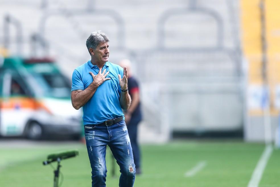Grêmio marca volta de Renato Gaúcho para retomada dos treinos coletivos